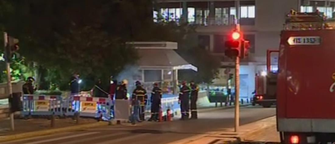 Κολωνάκι: Έκρηξη μετά από βραχυκύκλωμα σε καλώδια της ΔΕΗ (βίντεο)