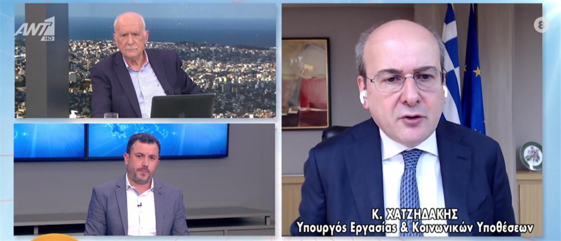 Χατζηδάκης στον ΑΝΤ1: πότε θα πληρωθούν όσοι υπέβαλλαν αίτημα για προκαταβολή σύνταξης (βίντεο)