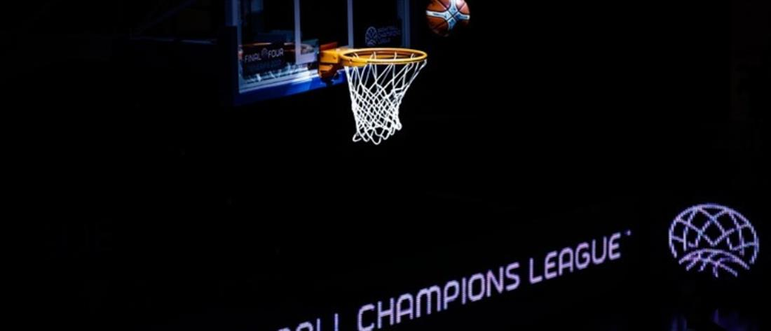 Basketball Champions League: Οι αντίπαλοι για ΑΕΚ και Περιστέρι