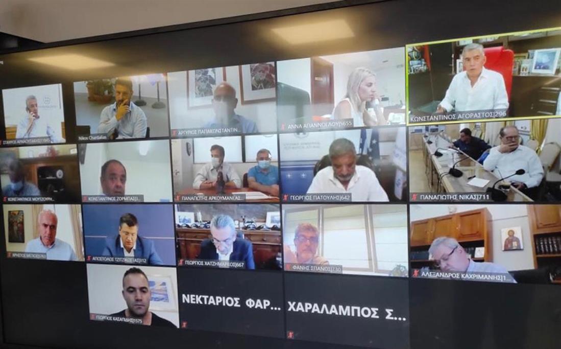 Νίκος Χαρδαλιάς - Ένωση Περιφερειών Ελλάδας - ΕΟΔΥ