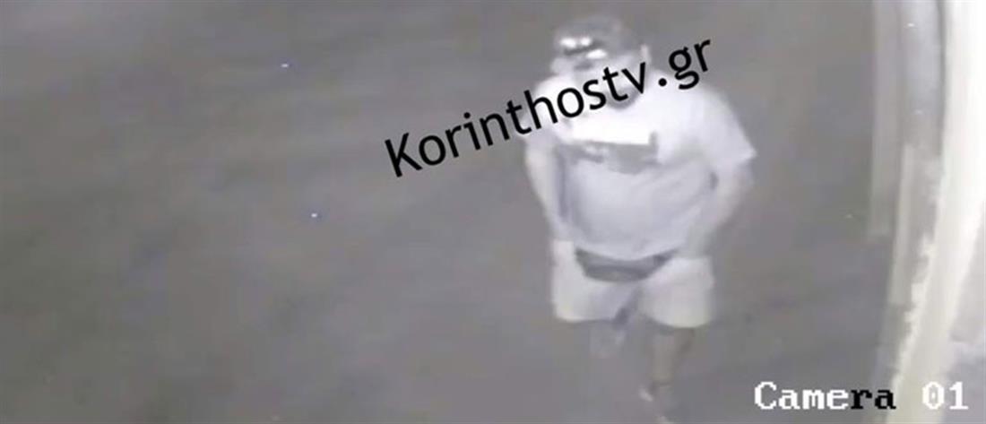Καρέ-καρέ η εισβολή διαρρηκτών σε ταξιδιωτικό γραφείο στον Ισθμό της Κορίνθου (βίντεο)