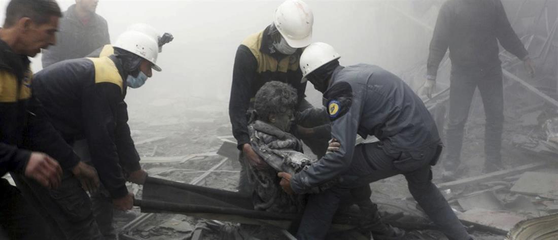 Εκατοντάδες άμαχοι νεκροί στη Συρία (βίντεο)