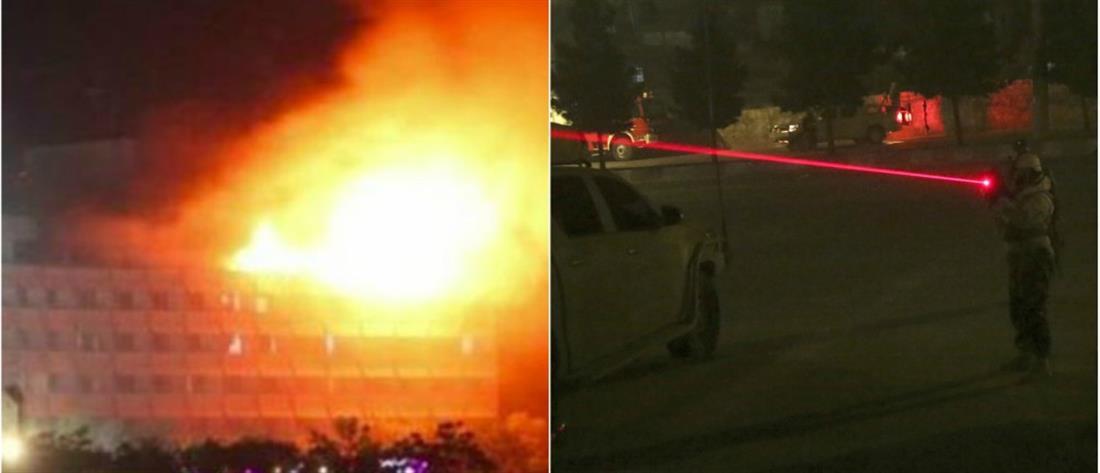 Αιματηρή εισβολή στο ξενοδοχείο Intercontinental στην Καμπούλ (βίντεο)