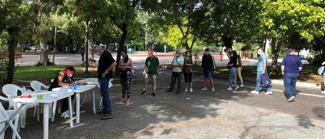 Κορονοϊός: τα αποτελέσματα των τεστ που έγιναν στην πλατεία Κουμουνδούρου