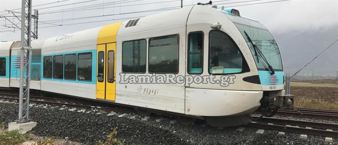 Εκτροχιασμός τρένου στο Λιανοκλάδι (εικόνες)