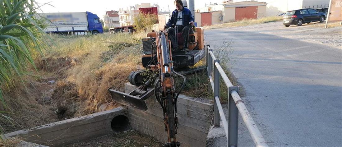 Ξεκίνησε ο καθαρισμός ρεμάτων της Αττικής (εικόνες)