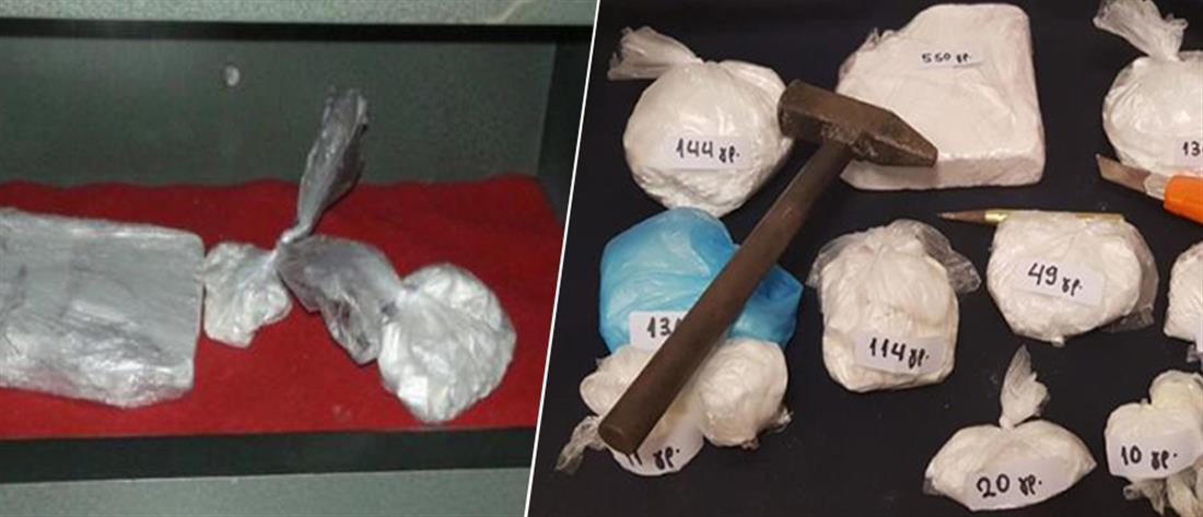 Είχαν ένα χρηματοκιβώτιο γεμάτο…. κοκαΐνη! (εικόνες)