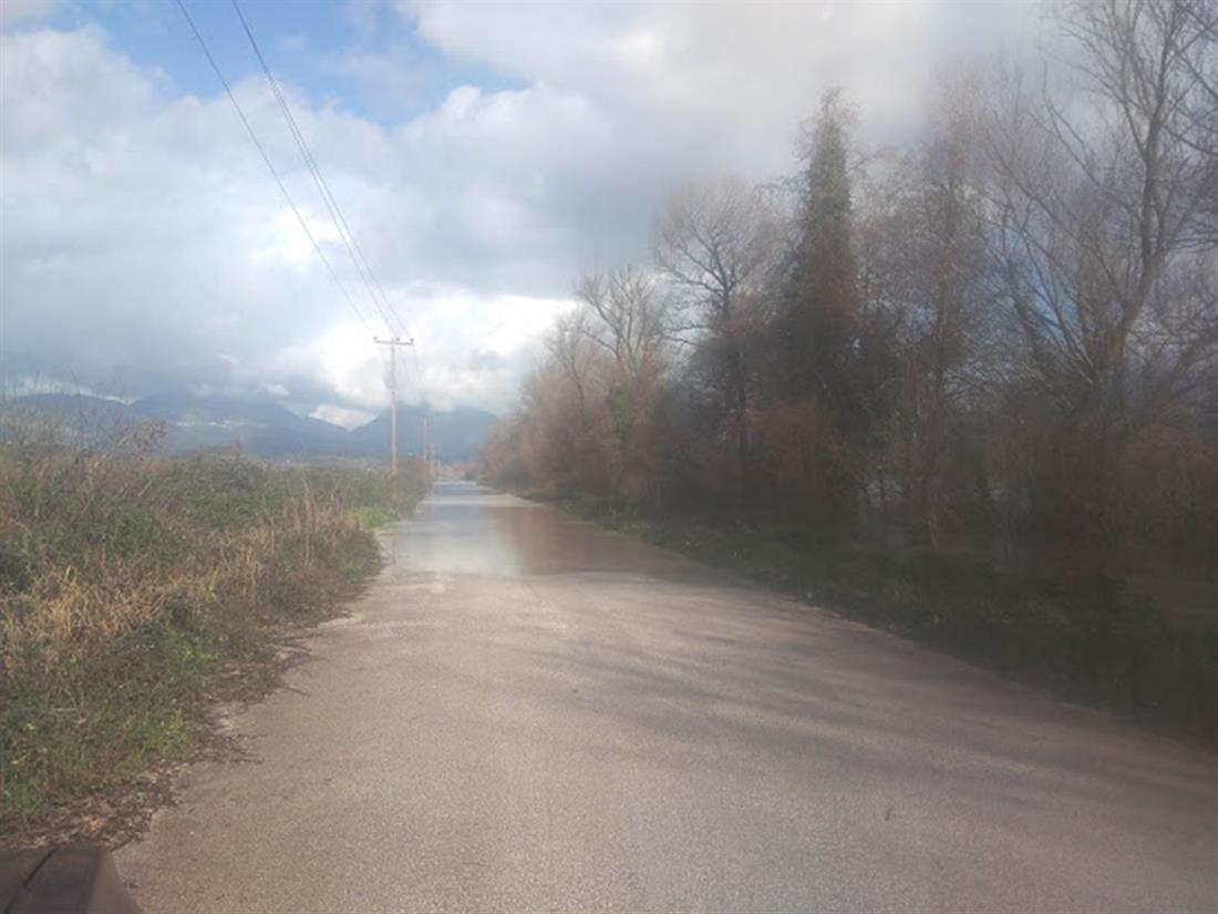 Πλημμύρες - Καλαμάς - Κορύτιανη