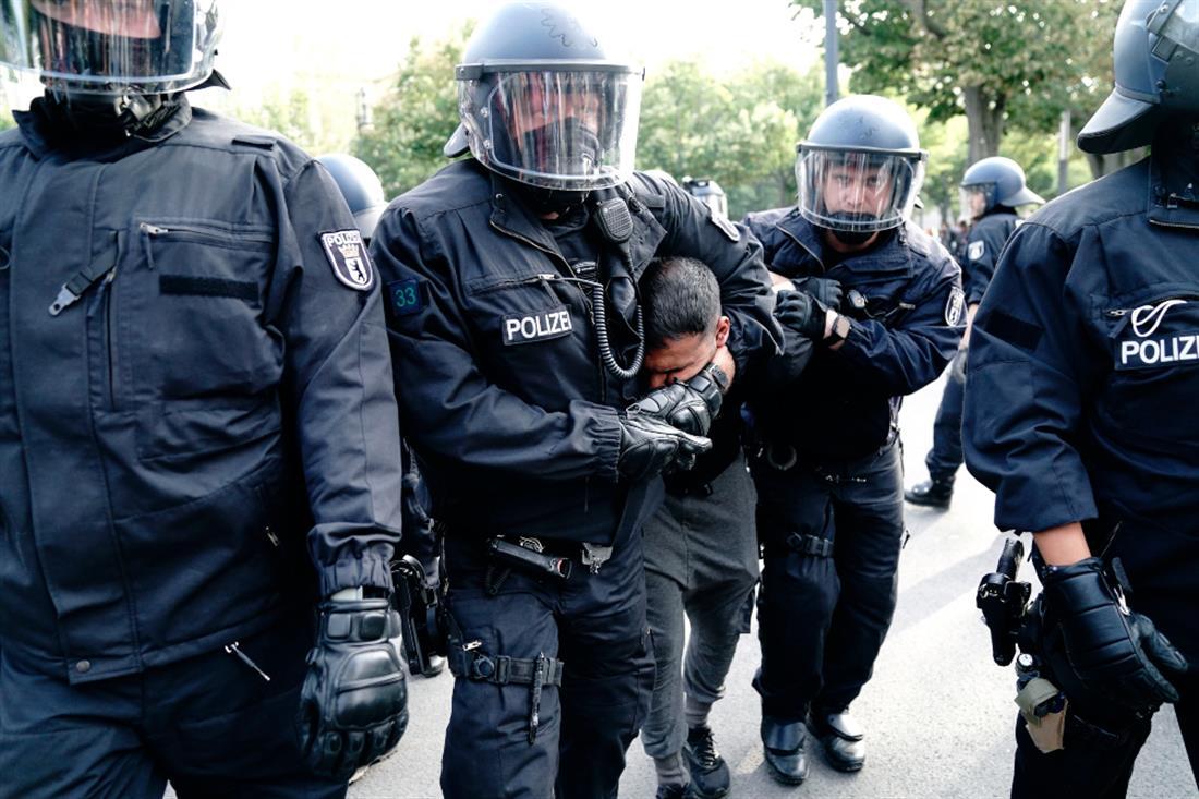 AP - Γερμανία - διαδηλώσεις - κορονοϊός