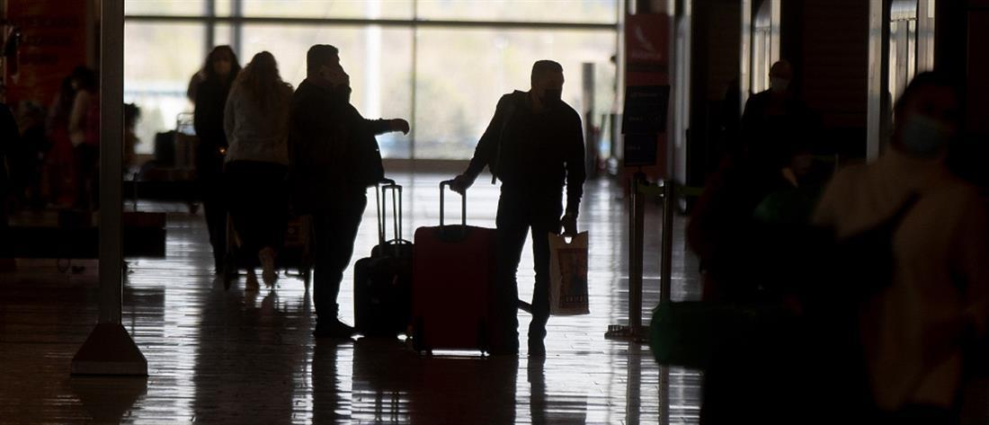 """Κορονοϊός - ΕΕ: """"Μπλόκο"""" σε ανεμβολίαστους ταξιδιώτες"""