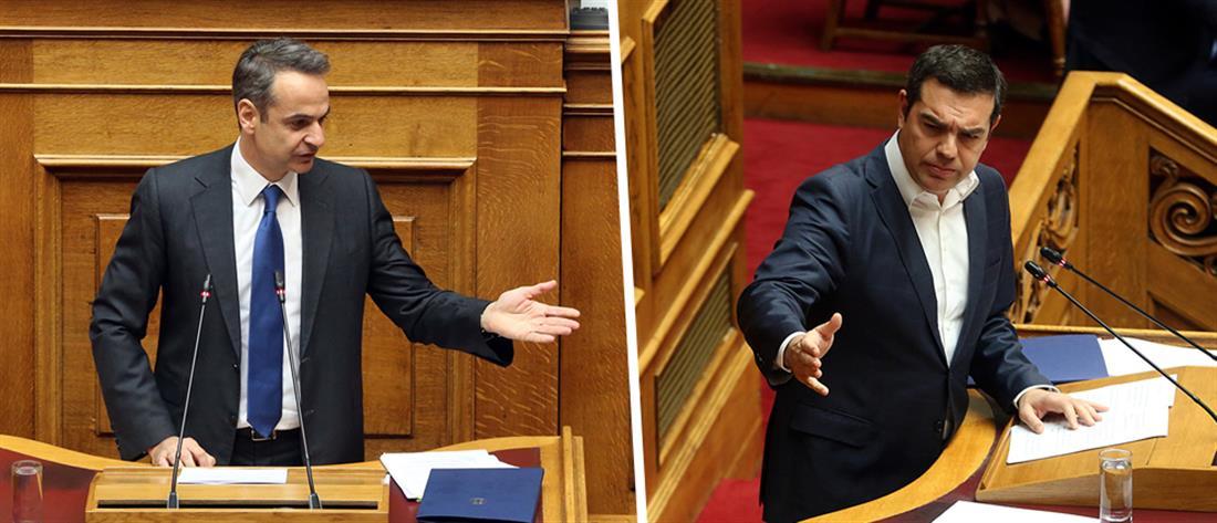 Επίκαιρη ερώτηση Τσίπρα σε Μητσοτάκη για την οικονομία