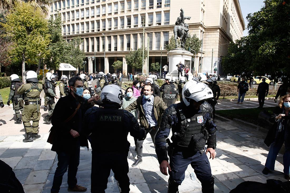 Κουφοντίνας - επεισόδια - Αθήνα