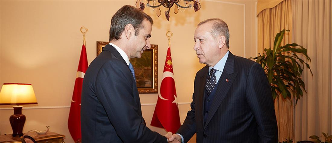 Μητσοτάκης: αθεμελίωτες και ανεδαφικές οι αξιώσεις του Ερντογάν
