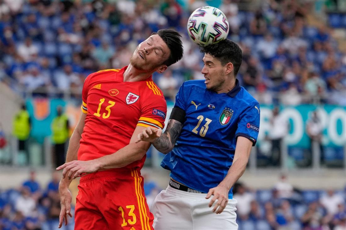 AP - Euro2020 - Ιταλία - Ουαλία