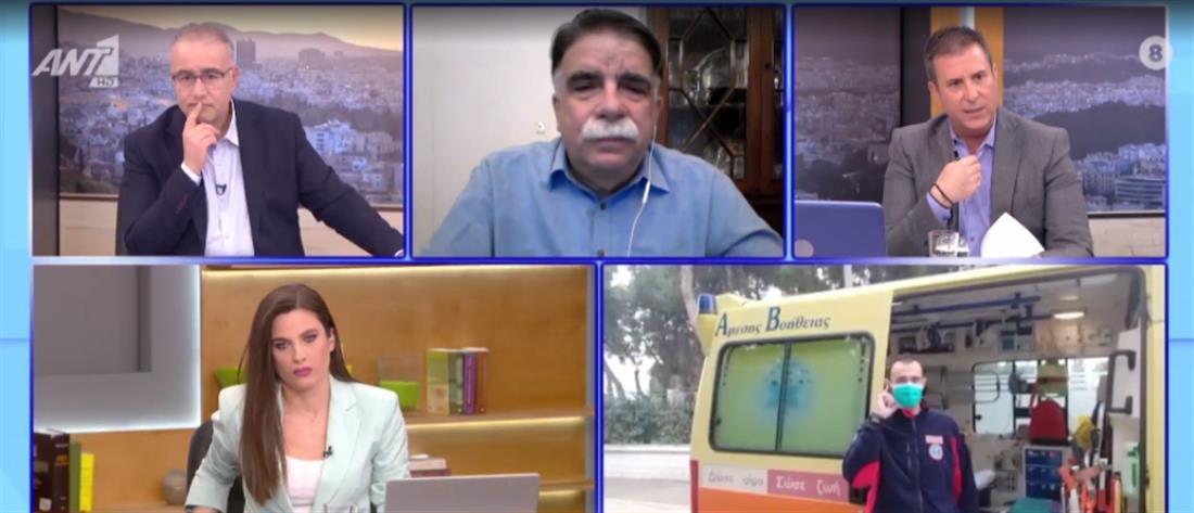 Βατόπουλος στον ΑΝΤ1: να υπάρξει πολιτικό μορατόριουμ για τις συγκεντρώσεις