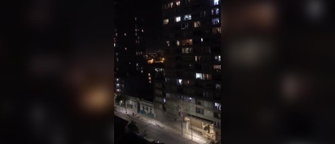 """Μια σοπράνο """"σπάει την σιωπή"""" στο αστυνομοκρατούμενο Σαντιάγο (βίντεο)"""