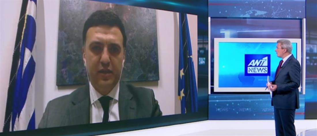 Κικίλιας στον ΑΝΤ1: τα έγκαιρα μέτρα έφεραν ανάσχεση στην πορεία εξάπλωσης του κορονοϊού στην Ελλάδα