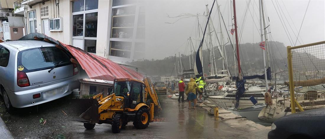 """""""Ιανός"""": στη δίνη του κυκλώνα η δυτική Ελλάδα (εικόνες)"""