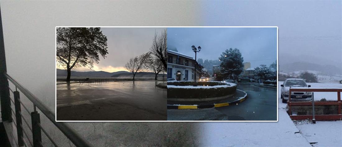 Χιόνια - κακοκαιρία - χιονοπτώσεις