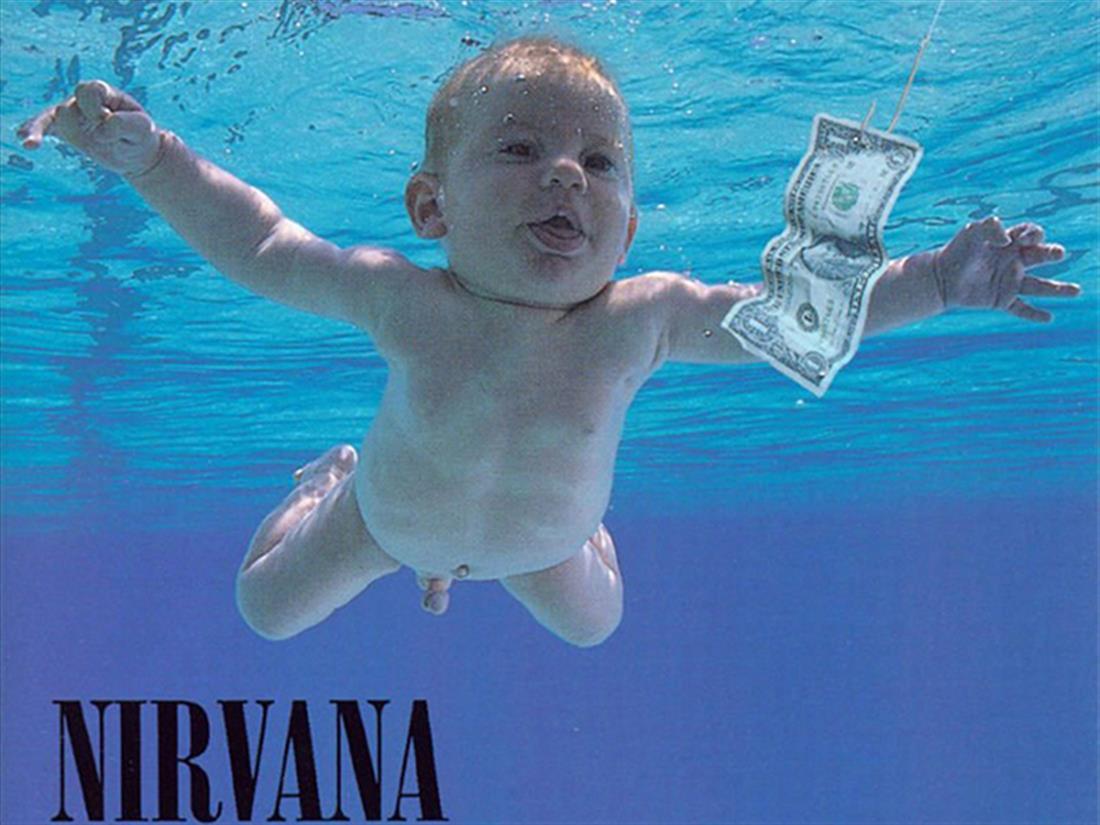 διάσημο μωρό - Nevermind - Nirvana - φωτογραφίζεται ξανά - 25 χρόνια μετά
