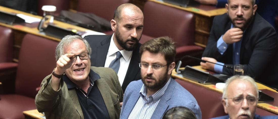 Βουλή: Ένταση, διακοπή και αποβολή βουλευτή του ΣΥΡΙΖΑ
