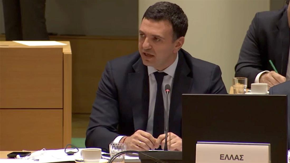 Συμβούλιο Υπουργών Υγείας της Ευρωπαϊκής Ένωσης - COVID-19 - Βασίλης Κικίλιας