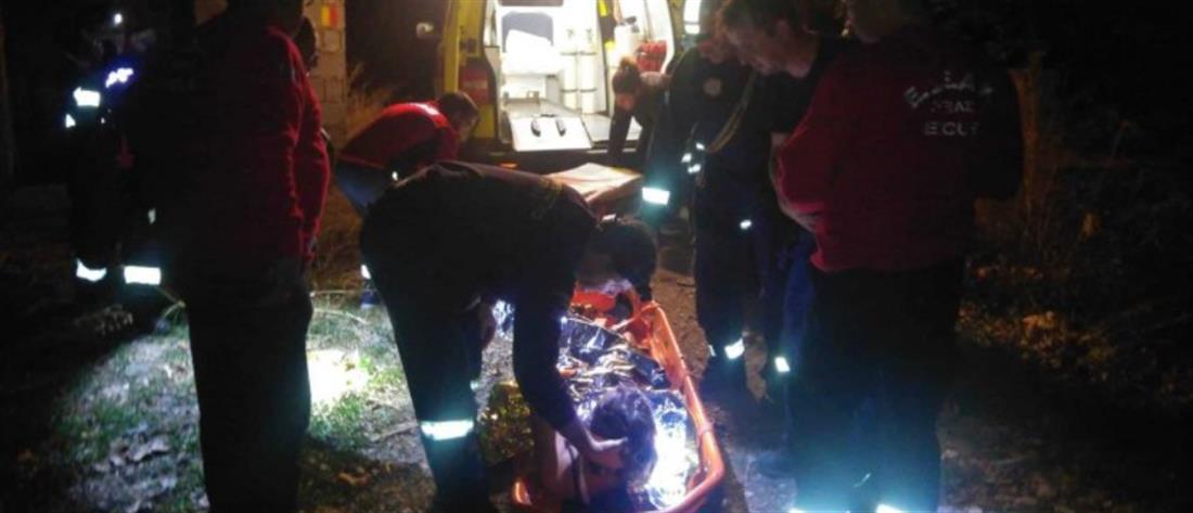 Νυχτερινή επιχείρηση διάσωσης στο φαράγγι του Ρίχτη (βίντεο)