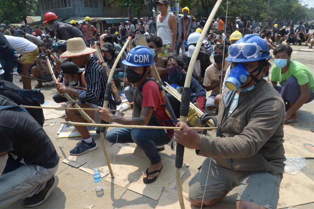 AP - Μιανμάρ - Πραξικόπημα