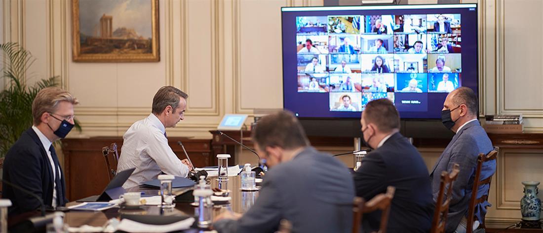 Υπουργικό Συμβούλιο - Μητσοτάκης: δουλειά για να μην χαθεί ούτε ευρώ από το Ταμείο Ανάκαμψης