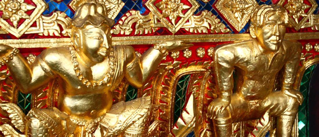 Ταϊλάνδη: πόλος έλξης των τουριστών χρυσό άγαλμα του Μπέκαμ (εικόνες)