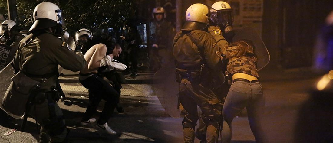 """Επέτειος Γρηγορόπουλου: Στον Συνήγορο του Πολίτη στέλνει η ΕΛ.ΑΣ. περιστατικά """"αστυνομικής βίας"""" (εικόνες)"""