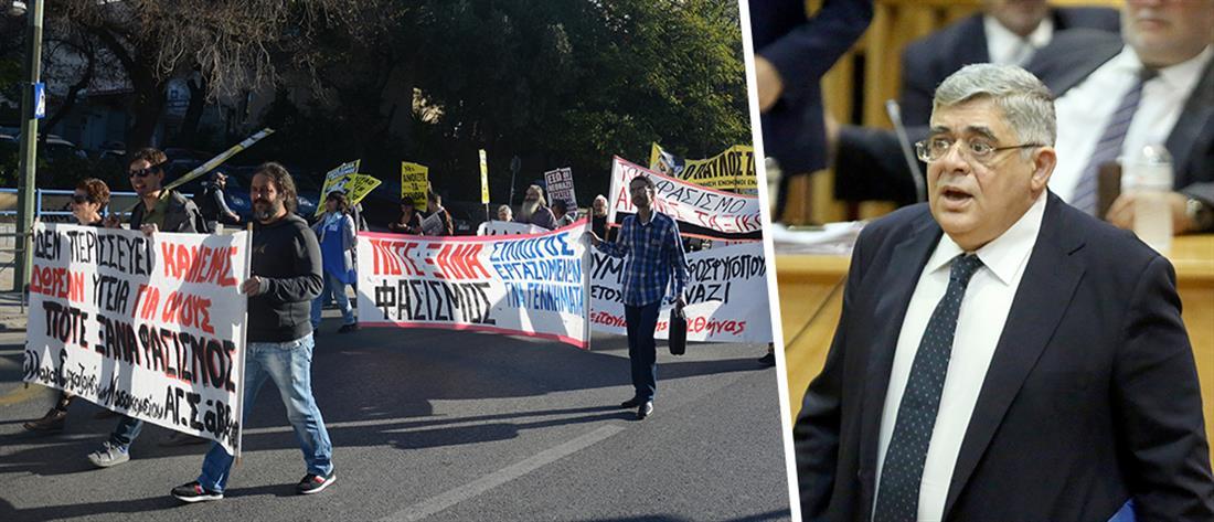 Δίκη Χρυσής Αυγής: Απολογείται ο Νίκος Μιχαλολιάκος