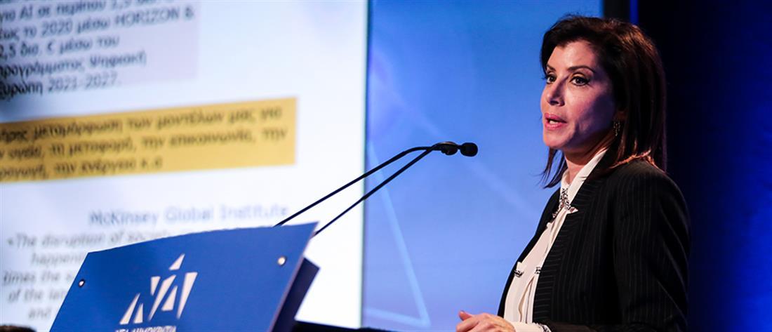 Την υποψηφιότητα της Άννας Μισέλ Ασημακοπούλου στις ευρωεκλογές ανακοίνωσε ο Μητσοτάκης