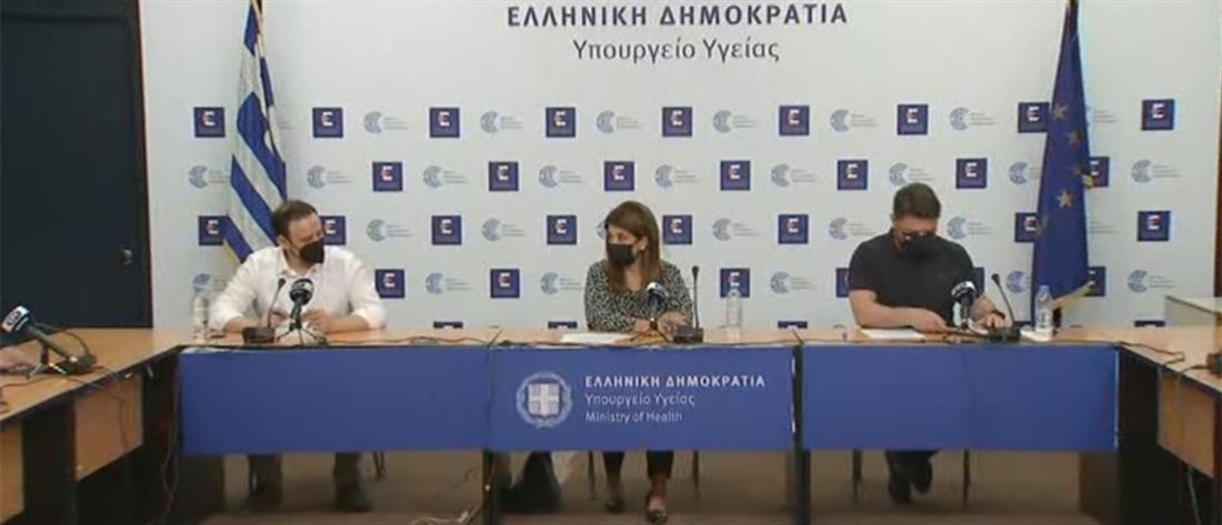 Κορονοϊός: Παπαευαγγέλου και Χαρδαλιάς για τα εμβόλια και την άρση του lockdown