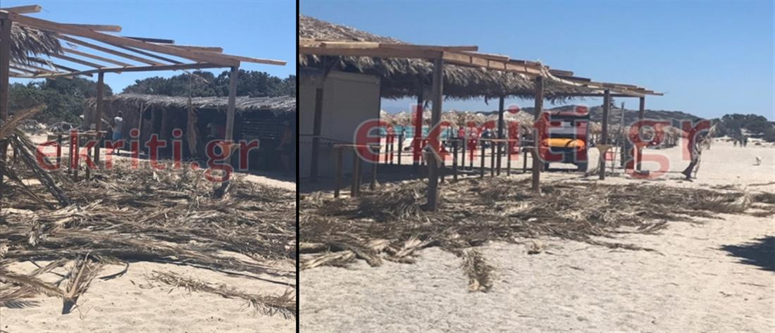 """Πρόστιμα """"φωτιά"""" στο Γαϊδουρόνησι που ξανάνοιξαν οι καντίνες"""