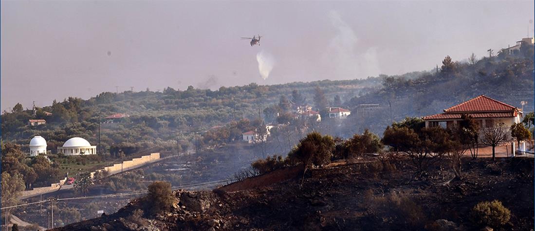 Φωτιά στην Μεσσηνία: Μαίνεται το πύρινο μέτωπο