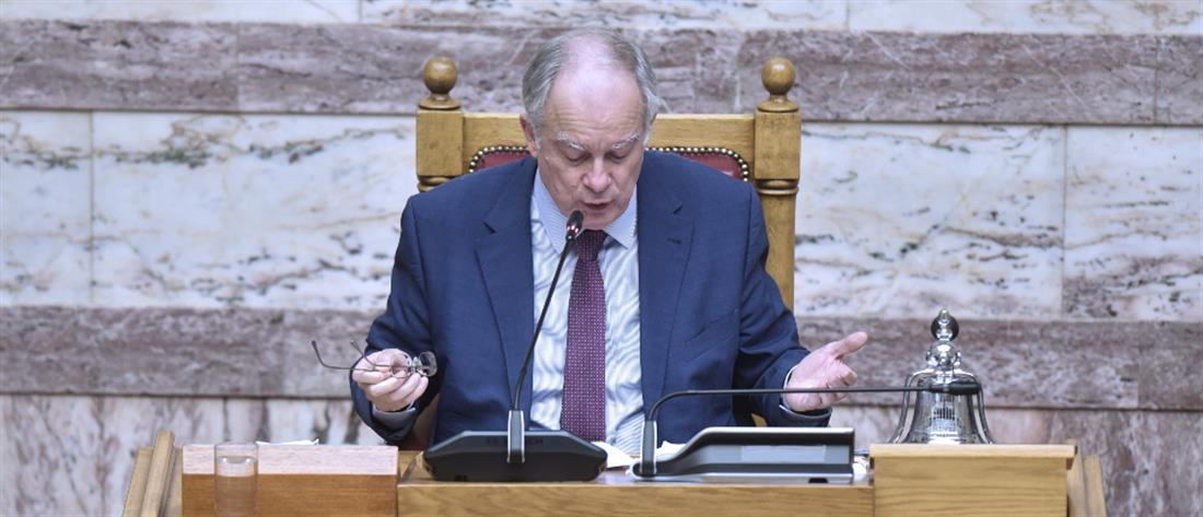 Αλέξης  Τσίπρας - Κώστας Τασούλας - Βουλή