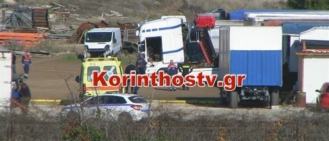 Τραγωδία: Οδηγός έπαθε ηλεκτροπληξία μέσα στο φορτηγό του (βίντεο)