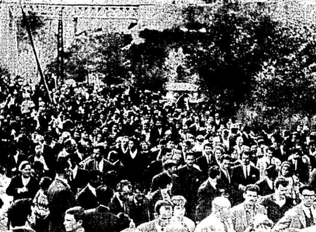 Τραγωδία στο Γοργοπόταμο - 29 Νοεμβρίου 1964 - Γοργοπόταμος