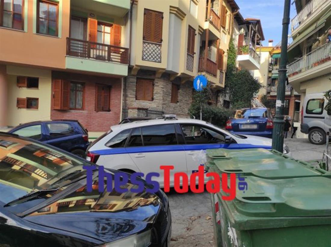 Θεσσαλονίκη - εκρηκτικά - οικοδομή