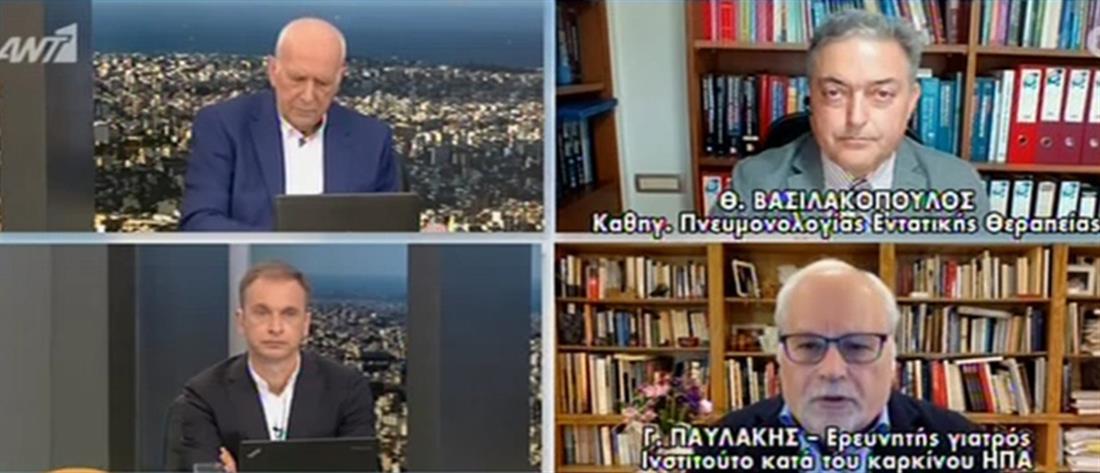 """Κορονοϊός - Παυλάκης στον ΑΝΤ1: """"Εβδομάδα Παθών"""" διαρκείας μέχρι το Πάσχα (βίντεο)"""