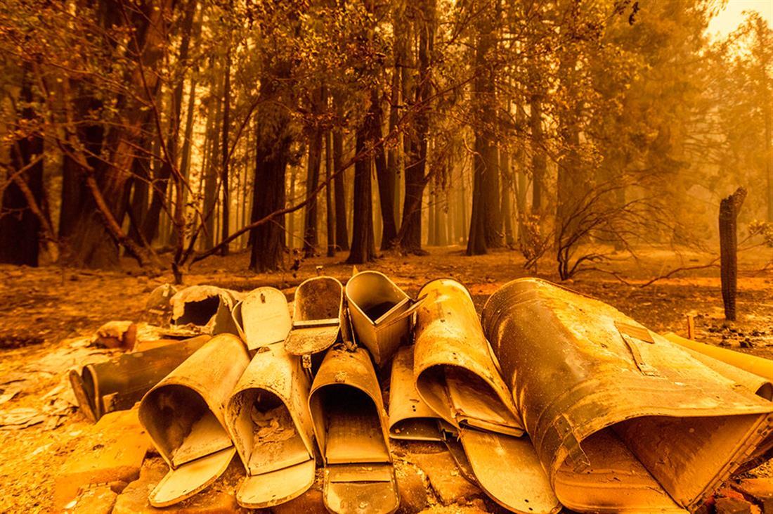 φωτιές - Καλιφόρνια