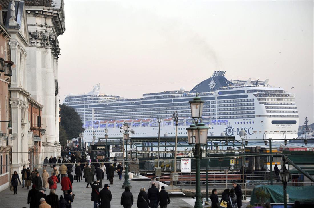 AP - Βενετία - Ιταλία - κρουαζιερόπλοιο