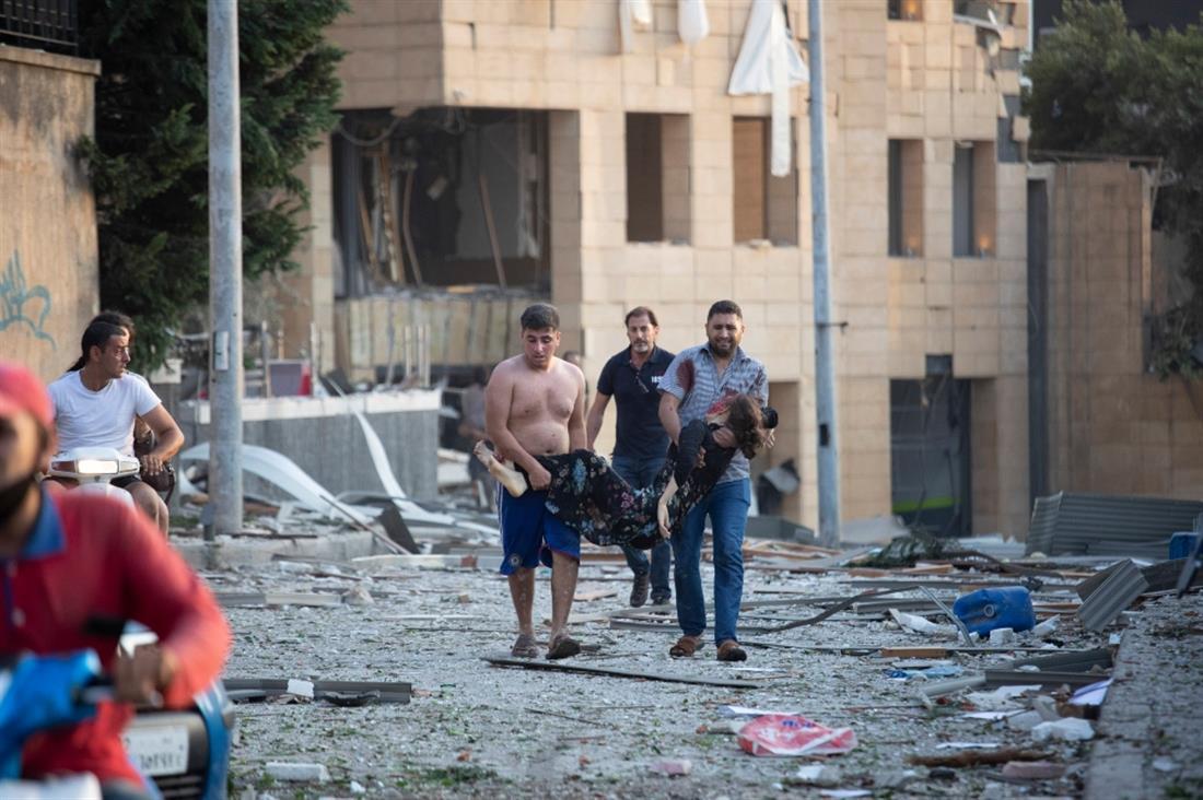Βηρυτός - έκρηξη