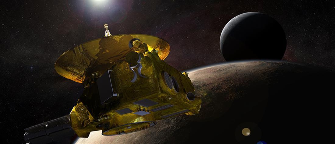 """Με επιτυχία πέρασε πάνω από την """"Εσχατη Θούλη"""" το New Horizons"""