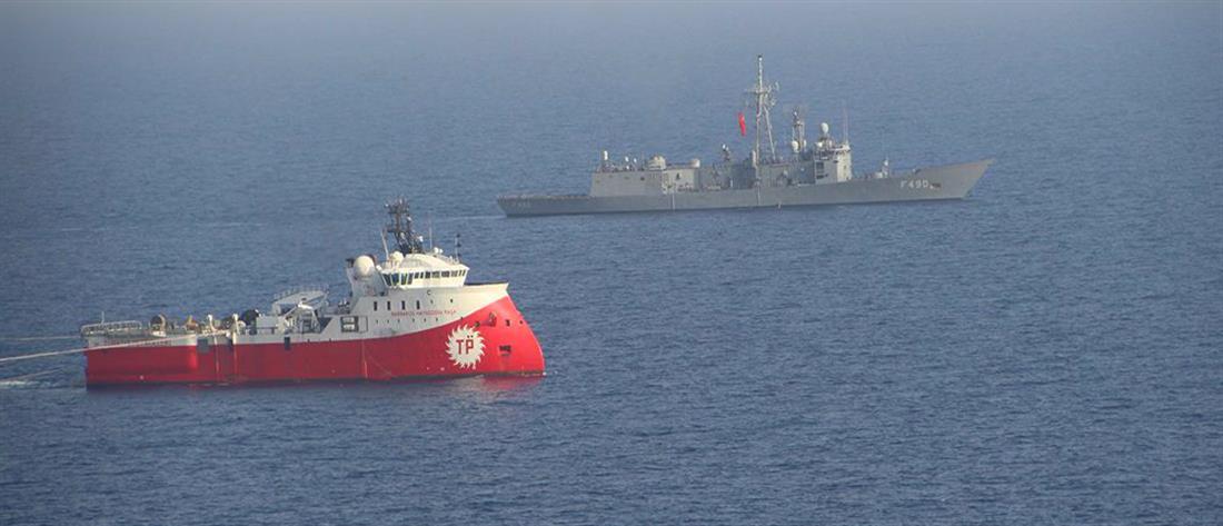 """Νέα πρόκληση από την Άγκυρα: Στέλνει ξανά το """"Barbaros"""" στην κυπριακή ΑΟΖ"""