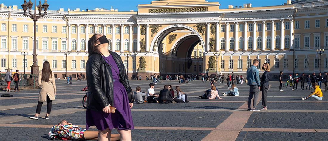 Κορονοϊός: Ημερήσιο ρεκόρ με 6595 στην Ρωσία