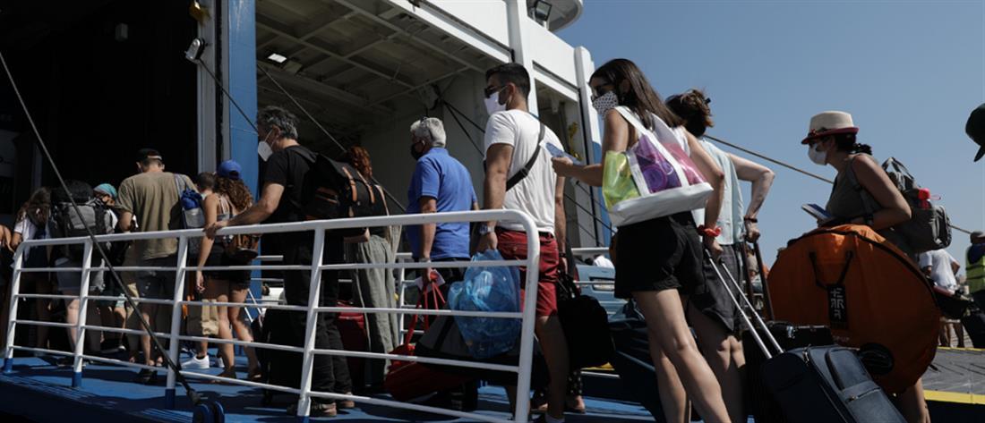 έξοδος - πλοία - αδειούχοι