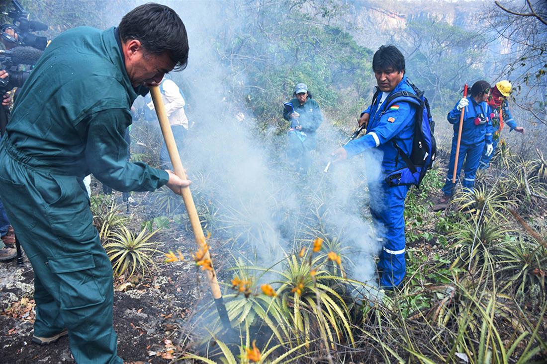 AP - Αμαζόνιος - Βολιβία - φωτιά