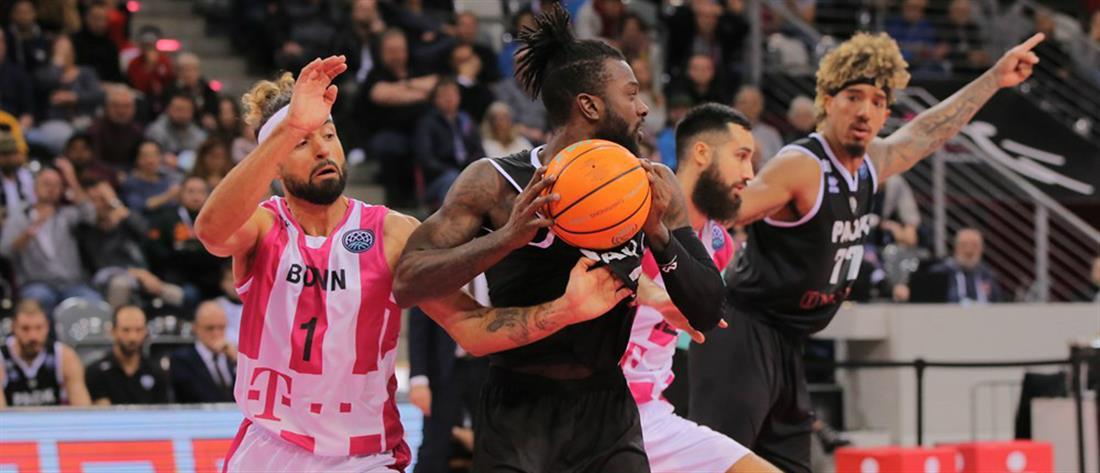 """Basketball Champions League: """"Διπλό"""" του ΠΑΟΚ στη Βόννη"""